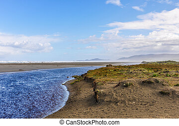 Beach view, Chiloe Island, Chile