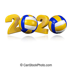 Beach Volleyball 2020 Design