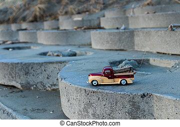 Beach Wood Truck