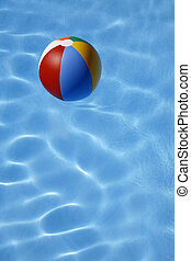 Beachball in Water