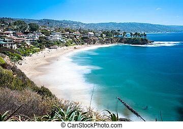 beachfront, bucht