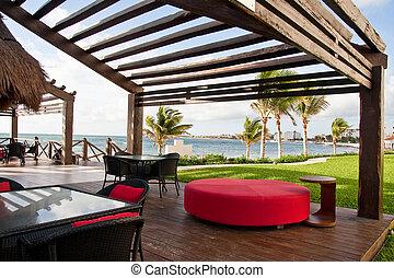 Beachside Tropical Bar