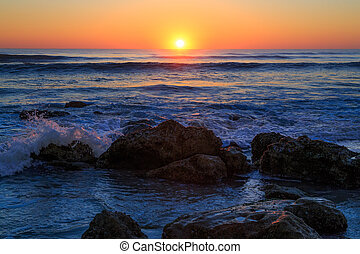 beachy, סלעי, עלית שמש