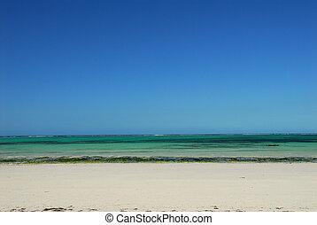 beack - white beach and crystal clear sea in Madagascar