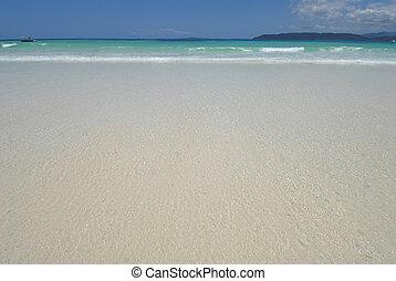 beack - white beach and crystal clear sea
