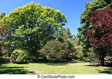 Beacon Hill Park in Victoria, Vancouver Island, BC, Canada