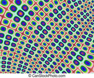 Bead Mat - Fractal rendition of beads arraged in a mat