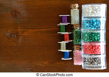 Beads and wire crafts