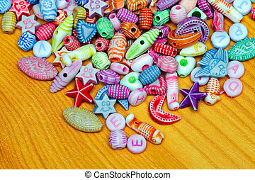 Beads elements