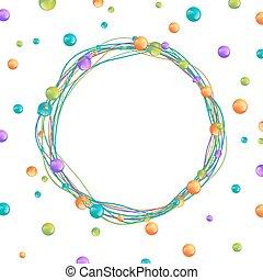 Beads Frame