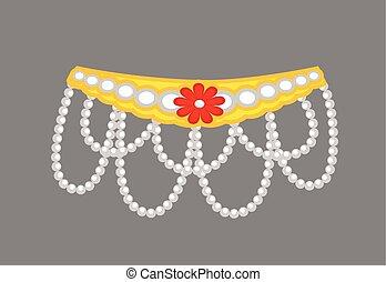 Beads Ornament Design - Mythologica