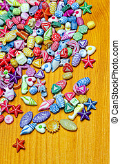Beads pieces