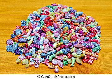 Beads Pile