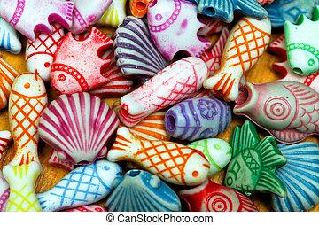 Beads sea life