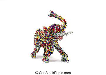 Beadwork Elephant
