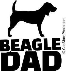 Beagle dad