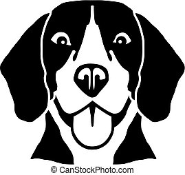beagle, tête