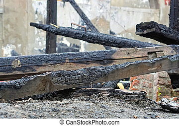Beam fire damage