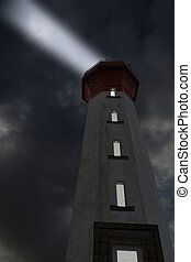 Beam - It is a big lighthouse in France. It is positioned on...