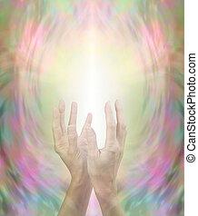 Beaming Beautiful Reiki Healing Energy