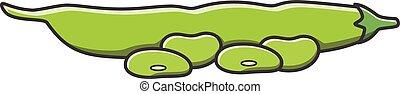 Bean doodle illustration