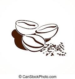 beans., kávécserje