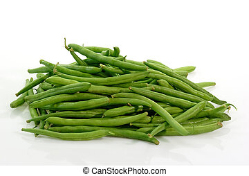 Stack of green beans