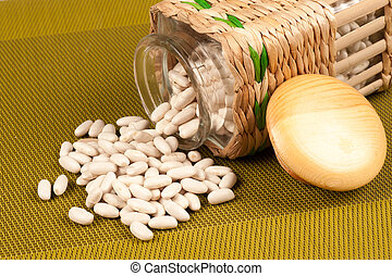 Beans still life