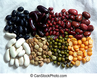 beans - eight kinds of beans