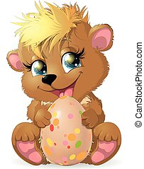 Bear and egg