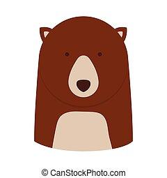 bear animal cartoon