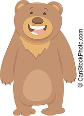 bear animal character