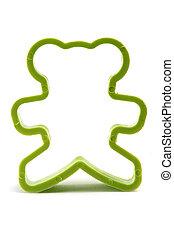Bear cookie cutter