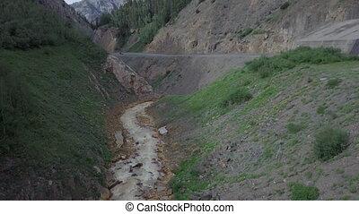 Bear Creek near Million Dollar Highway Colorado Route 550...