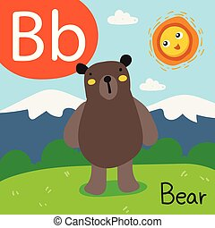 bear drawing line vector design