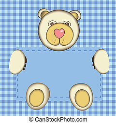 Bear for baby boy