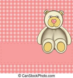 Bear for baby girl