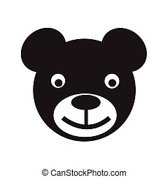 bear icon Vector Illustration