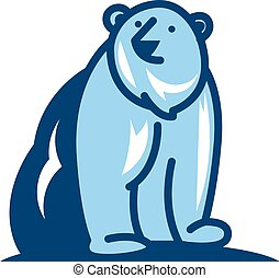 Bear Logo Icon Design