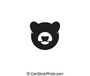 Bear logo vector