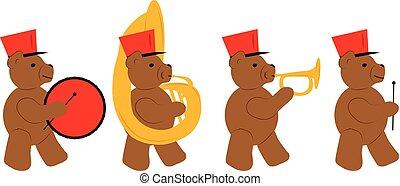 Bear Marching Band