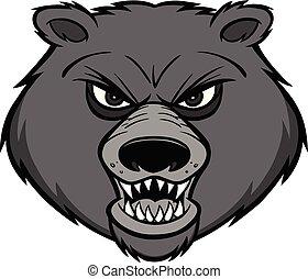 Bear Mascot Illustration
