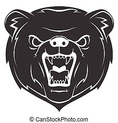 Bear Mascot Tattoo