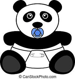 Bear panda - Creative design of bear panda
