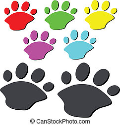 bear paw illustration