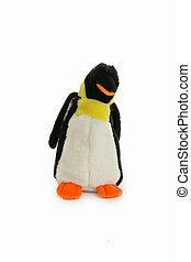 bear, pinguin isolated on white background
