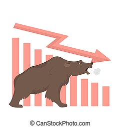 Bear stock market.