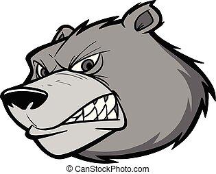 Bear Team Mascot Illustration