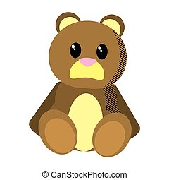bear teddy cute toy childhood