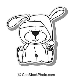bear teddy hat design